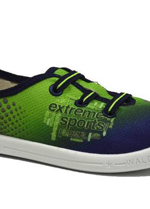 Кеды waldi арт.360-116 стас, extreme sport, blue-green