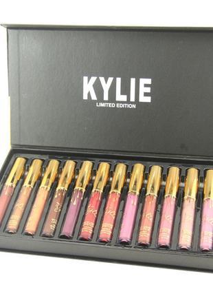 Набор жидких матовых помад Kylie Interpretation of the Beautiful