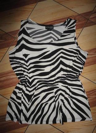 Маечка зебра