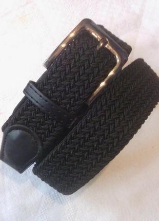 Эластичный пояс резинка черный в наличии