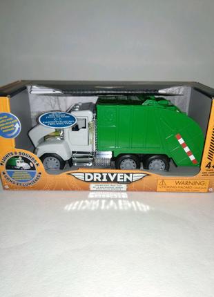 Автомодель машинка Driven Mini Мусоровоз WH1010Z Battat