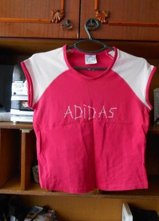 14 р. оригинал!шикарная фирменная футболка adidas