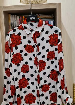 Блуза в стиле Dolce&Gabbana made in Italy