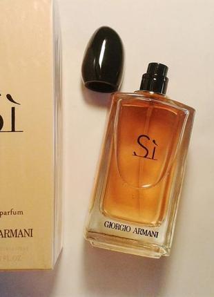 Giorgio armani si,100 мл, парфюмированная вода