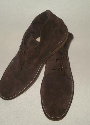 Topman-испания-мужские замшевые ботинки 43 р.