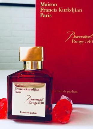 Maison francis kurkdjian baccarat rouge 540, унисекс,70 мл. духи