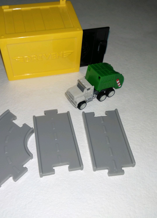 driven pocket series by battat машинка мусоровоз грузовик