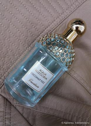 Guerlain aqua allegoria coconut fizz.75 мл, парфюмированная вода