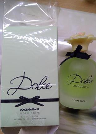 Dolce&gabbana dolce floral drops, 75 мл, парфюмированная вода