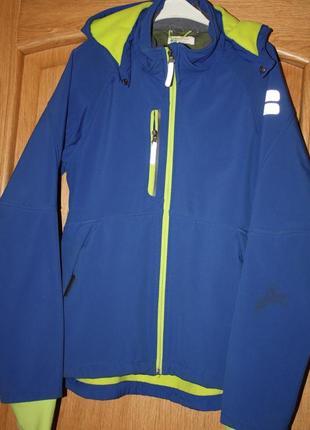 Куртка h&msoftshell ветровка софтшел для подростка 14/15лет