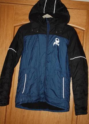 Зимняя теплая курточка для подростка р-164 ,14/15лет достойное...