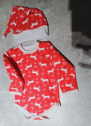 Новогодний костюм для малышей 68р