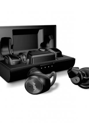 Беспроводные наушники NIA NB710 Bluetooth 5.0 гарнитура кейс 400m