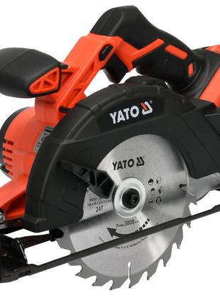 Аккумуляторная дисковая пила Yato YT-82810
