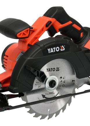 Циркулярная аккумуляторная пила Yato YT-82811 (без аккумулятора)