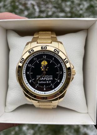 """Мужские наручные часы Q&Q F 468 004 """"Национальная полиция"""""""