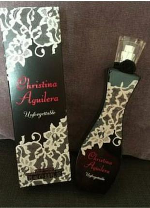Christina Aguilera Unforgettable  75 мл женский парфюм