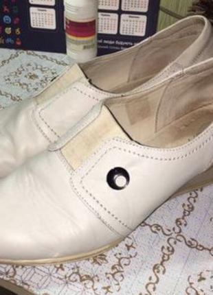 Туфли кожаные 42р.