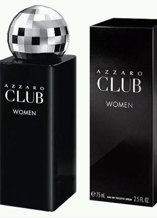 Azzaro Club Women Azzaro для женщин  75 мл