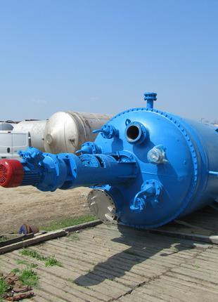 Реактор из нержавейки 0,25м3.  1м3. 2м3. 3,2м3. 5м3. 6,3м3.