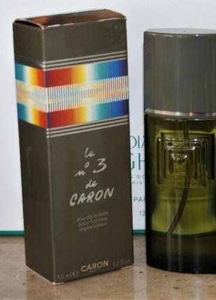 Le 3' homme de caron caron мужской парфюм винтаж