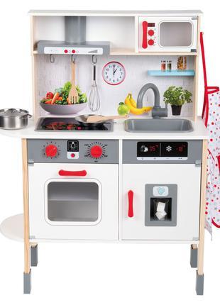 Кухня детская деревянная, игровой набор Playtive