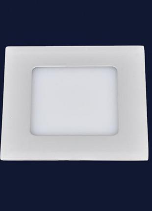 Светодиодный врезной LED светильник 6W4000K