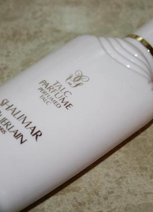 Guerlain shalimar 100мл тальк парфюм