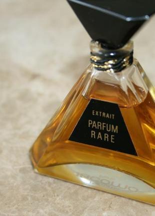Редкие духи jacomo parfum rare 15мл хрустальный флакон!