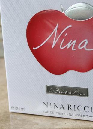 Духи nina ricci nina les belles de nina 80 мл франция оригинал