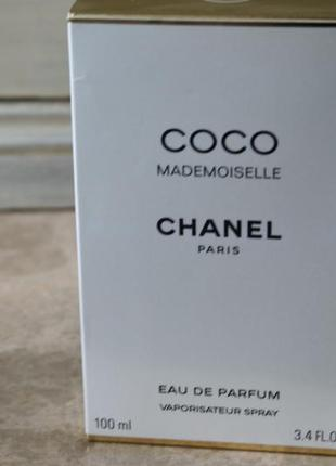 Coco mademoiselle духи мадмуазель шанель 100мл новые