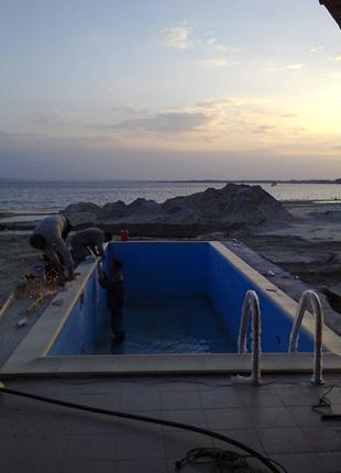 Монтаж и ремонт бассейнового оборудования.