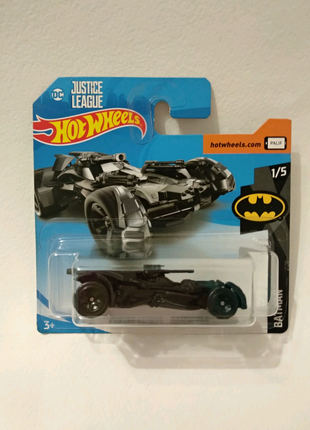 Hot Wheels DC Batman хот вилс Бэтмен бэтмобиль  машинка