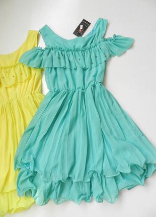 ✅ платье с воланом