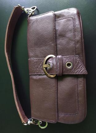 Женская бредовая сумка кожа