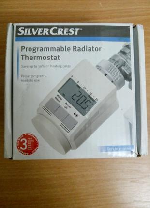 Термостат SilverCrest программируемый для отопления