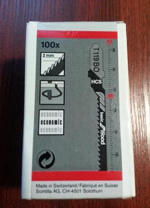Пилка для электро лобзика  T119BO