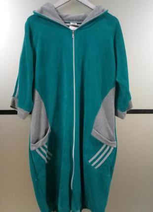 Женский велюровый халат 3xl,в наличии цвета и размеры турция