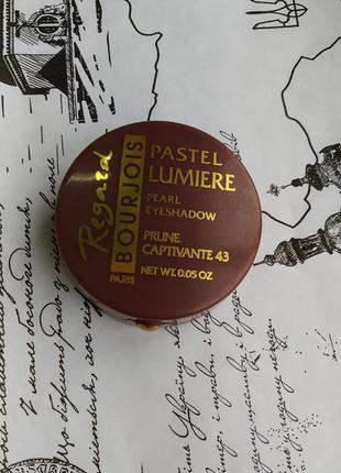 Bourjois, pastel lumiere. тени для век.