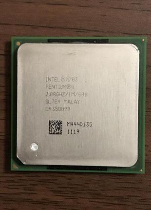 Процессор Intel Pentium 4 HT (3.0 GHZ) Socket 478 (2 Потоки)