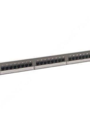 Патч-панель 24xRJ45, Cat.5e, UTP, 1U Molex PID-00058