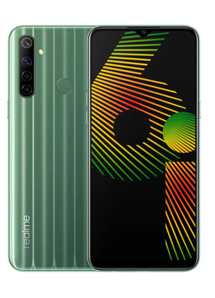 "Смартфон Realme 6i, 4/128 Gb, 8 ядер, 5000 мАч, 48 МП, 6,5"" экран"
