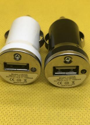 Автозарядка USB 5V 1A