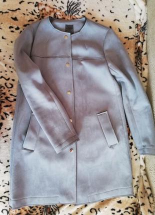 Замшевое пальто Primark