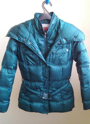 Пуховик, куртка зимняя aviva xs,s