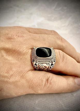 Печатка перстень серебро 925