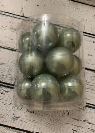 Набор шарики шары на елку елочные украшения xmas bubbles  подв...