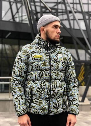 Зимняя куртка Bosco sport, Боско. Камуфляж Пуховик