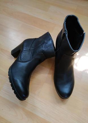 41 p. jana кожаные классичесие ботинки сапоги