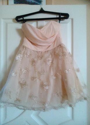 Выпускное платье 46-48 размер